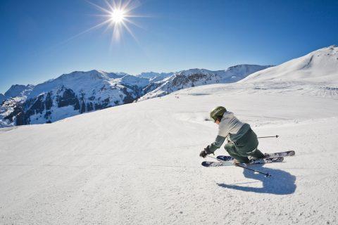 Skifahrer